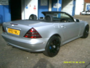 2003 CONVERTIBLE 2LTR AUTO SLK GOS WELL 97,000 MILES NEW MOT FSH For Sale