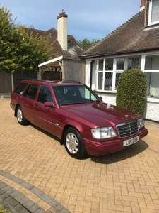 Concours Winning W124 Estate