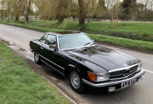 Mercedes R107 500SL Black/Black Automatic