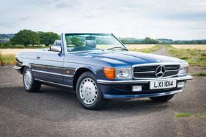 1987 Mercedes-Benz R107 300SL - 14,149 Miles From New