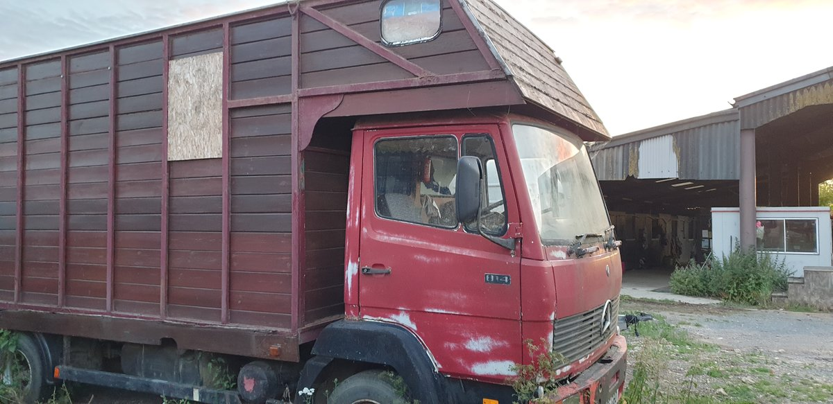 1987 814 Horse box project  For Sale (picture 2 of 2)