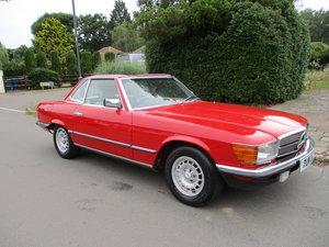 1985 MERCEDES 280SL    C REG STUNNING CAR 92,500 MILES