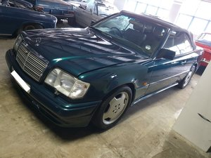 Mercedes E36 1 of 14.One of the rarest AMGs. RHD