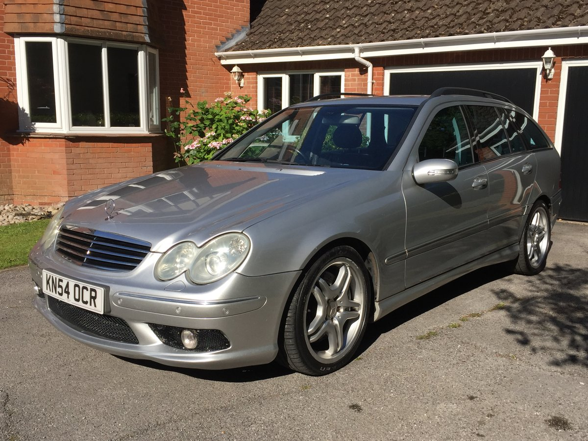 2004 Mercedes c55 amg estate For Sale (picture 1 of 6)