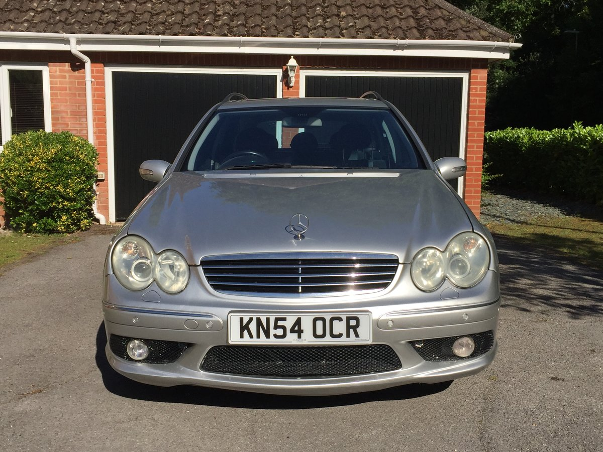 2004 Mercedes c55 amg estate For Sale (picture 2 of 6)