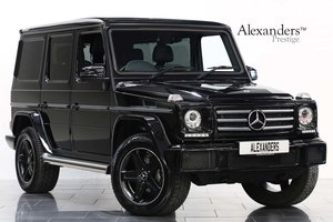 18 18 MERCEDES BENZ G350D NIGHT EDITION AUTO