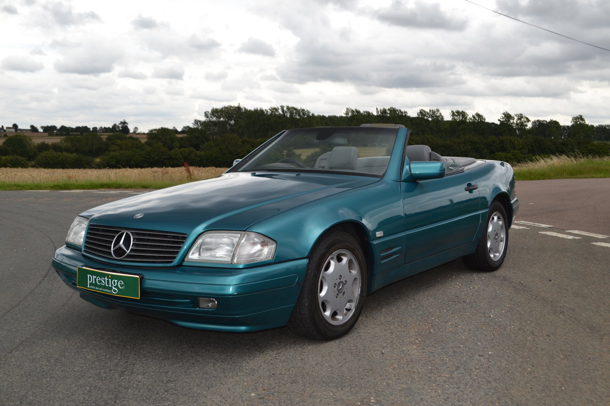 1997 Mercedes SL 280 + hard and soft top SOLD (picture 1 of 15)