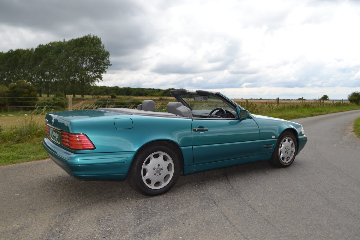 1997 Mercedes SL 280 + hard and soft top SOLD (picture 6 of 15)