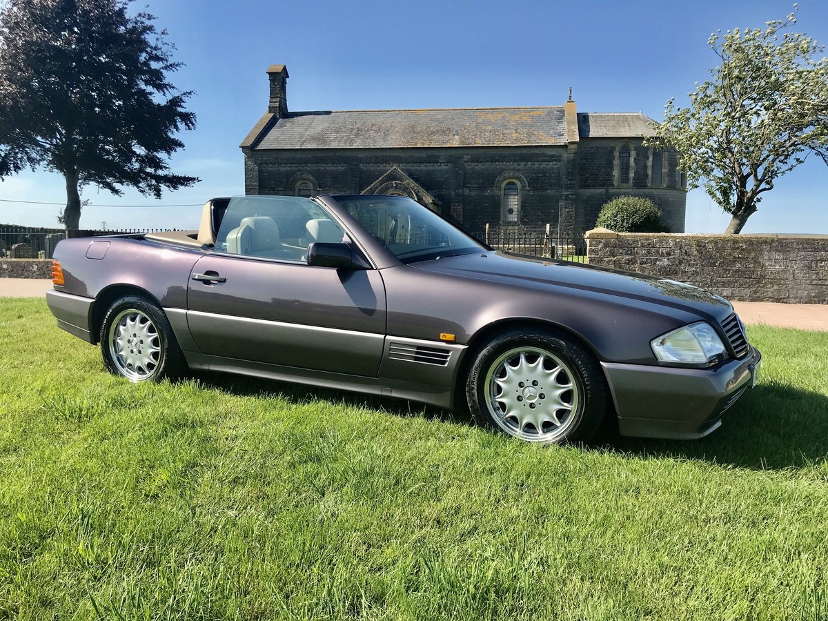 1995 Mercedes Benz SL 320 (r129) 3.2 auto For Sale (picture 1 of 6)
