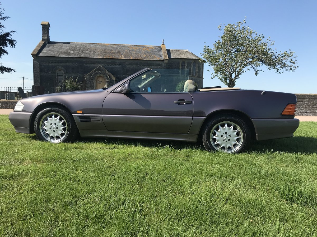 1995 Mercedes Benz SL 320 (r129) 3.2 auto For Sale (picture 3 of 6)