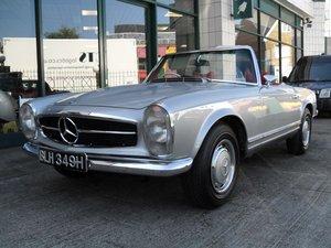 1970 Mercedes 280 SL RHD Restored