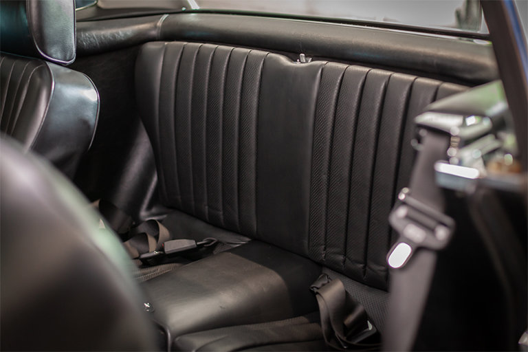 1985 Mercedes-Benz 380SL Black with Black Leather and Rear Seats SOLD (picture 4 of 11)