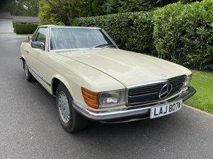1981 Mercedes 280sl convertible