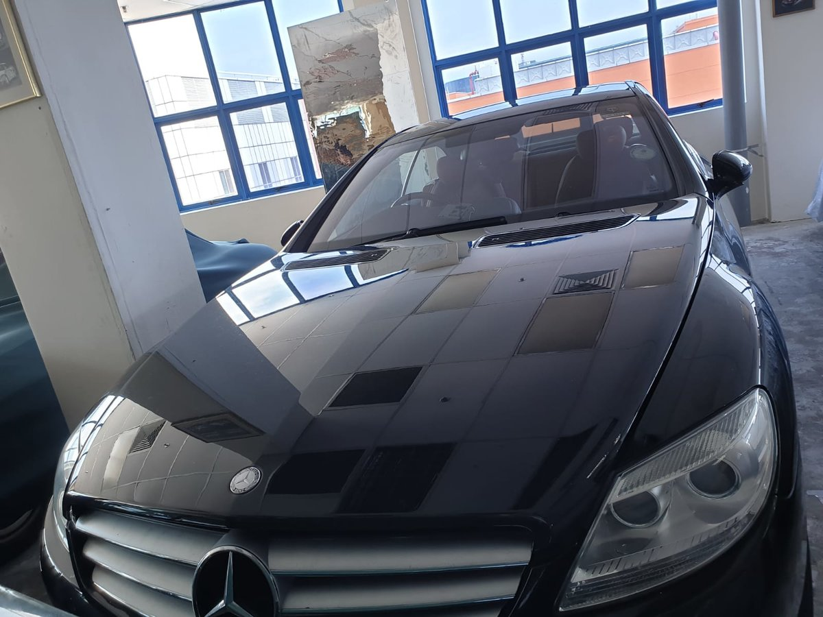 2008 Mercedes-Benz CL500, 5.5 V8, FMBSH. Low Miles For Sale (picture 1 of 6)