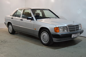 1993 Mercedes 190 E, Rare Manual, Just 32263 Miles...Lovely For Sale
