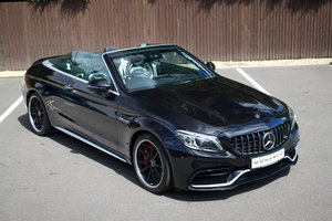 2019/19 Mercedes-AMG C63S Premium Plus Cabriolet