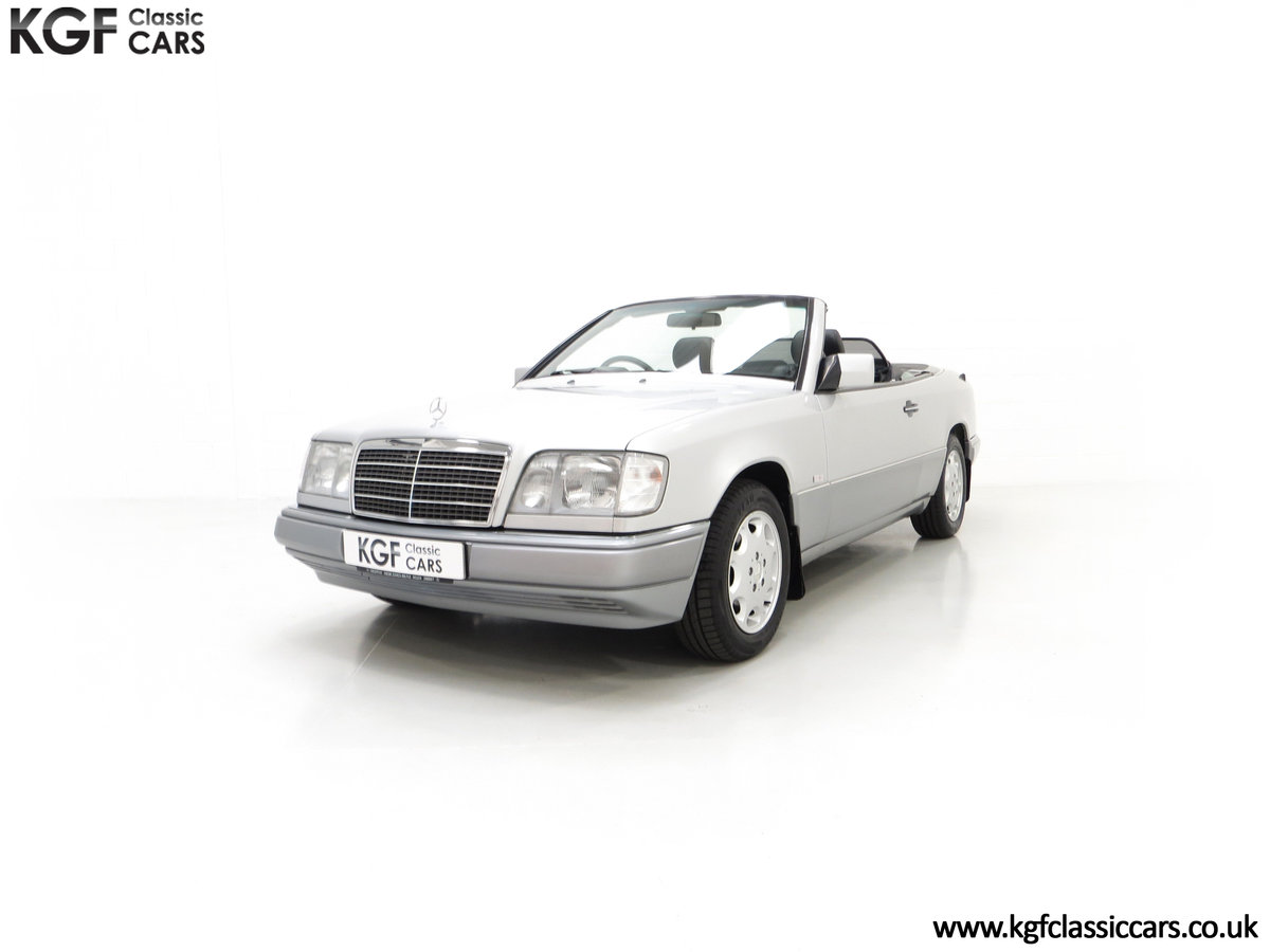 1997 A Splendid Mercedes-Benz W124 E220 Cabriolet 48,443 Miles For Sale (picture 6 of 24)