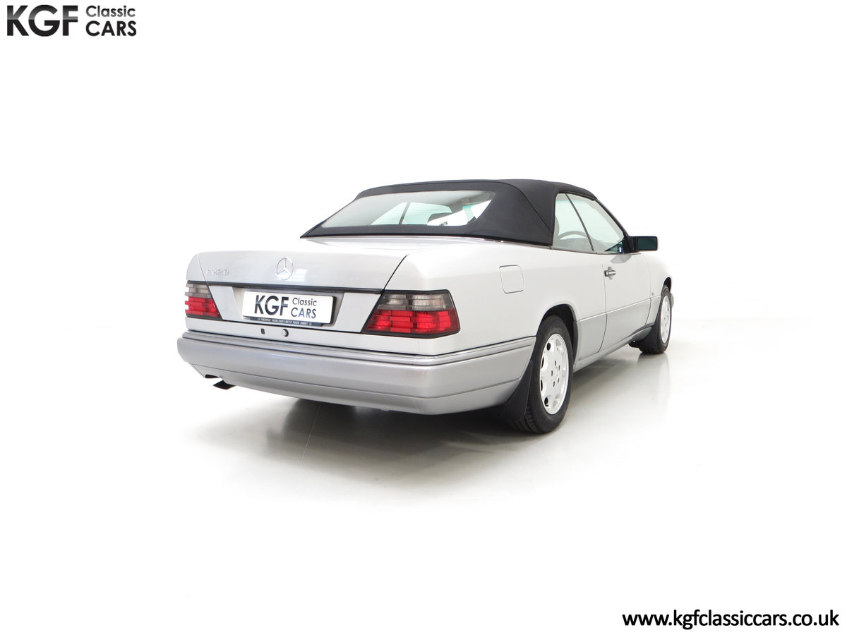 1997 A Splendid Mercedes-Benz W124 E220 Cabriolet 48,443 Miles SOLD (picture 13 of 24)