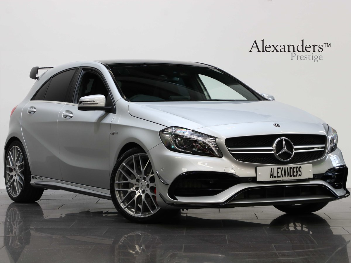 2017 17 17 MERCEDES BENZ A45 AMG PREMIUM 4 MATIC AUTO For Sale (picture 1 of 6)