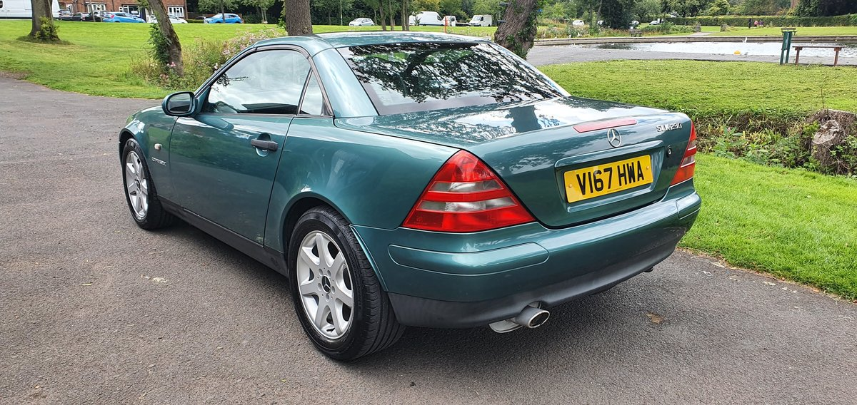 2000 Stunning Mercedes SLK 230 Kompressor. low miles For Sale (picture 2 of 6)