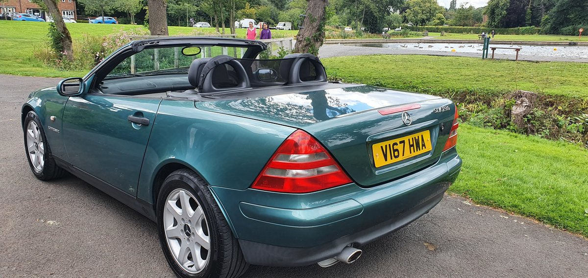 2000 Stunning Mercedes SLK 230 Kompressor. low miles For Sale (picture 3 of 6)