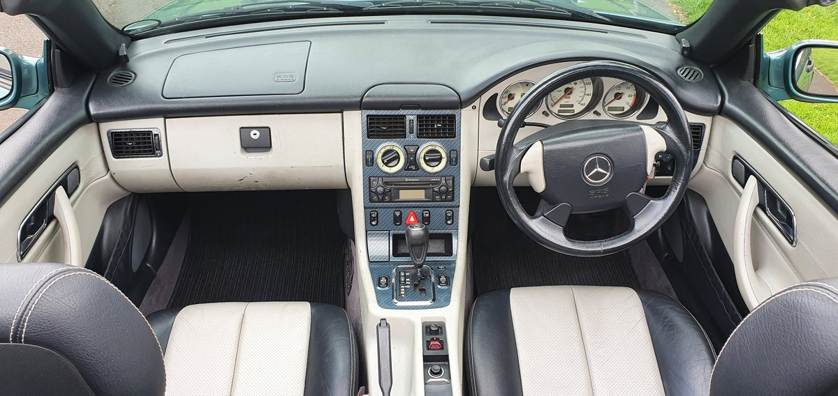 2000 Stunning Mercedes SLK 230 Kompressor. low miles For Sale (picture 4 of 6)