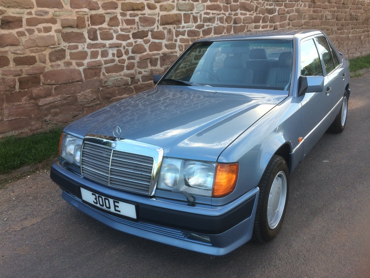 Picture of 1990 RARE MERCEDES 300 E CARAT DUCHATELET 4 WD SALOON. For Sale