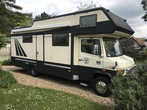 1987 Mercedes  711d Motorhome project