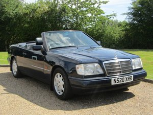 1996 Mercedes W124 E220 Cabriolet Auto at ACA 22nd August