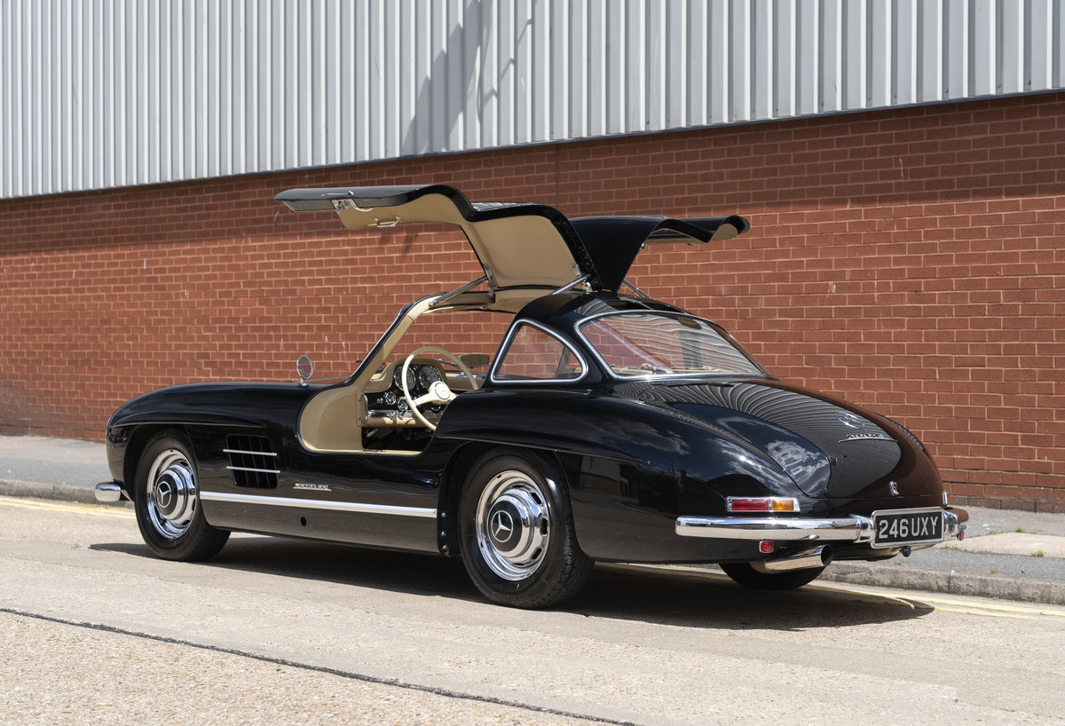1955 Mercedes-Benz 300SL Gullwing (LHD) For Sale (picture 6 of 23)
