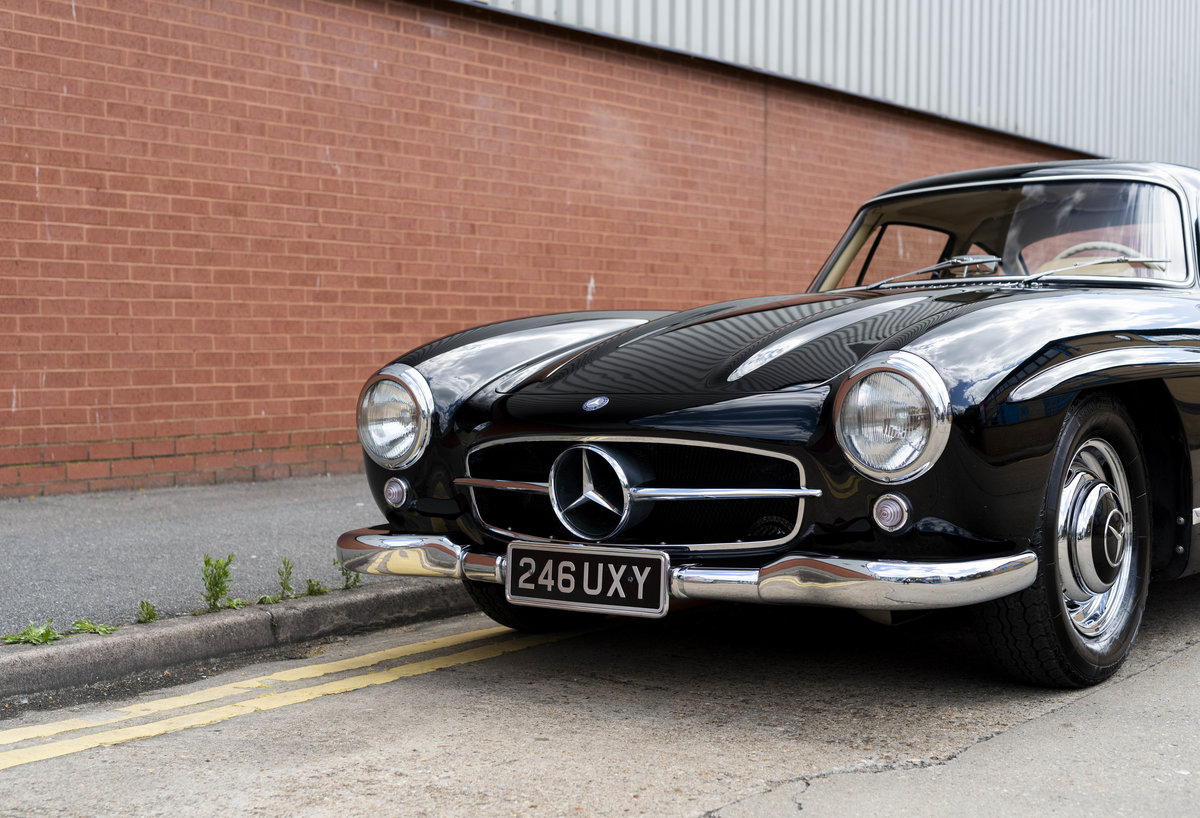 1955 Mercedes-Benz 300SL Gullwing (LHD) For Sale (picture 12 of 23)