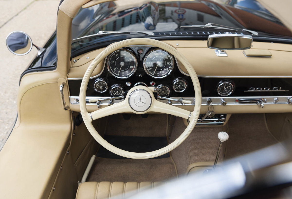 1955 Mercedes-Benz 300SL Gullwing (LHD) For Sale (picture 16 of 23)