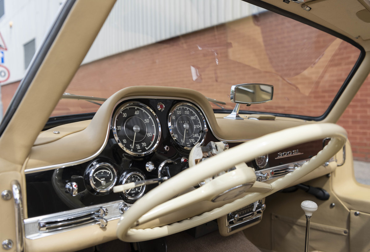 1955 Mercedes-Benz 300SL Gullwing (LHD) For Sale (picture 17 of 23)