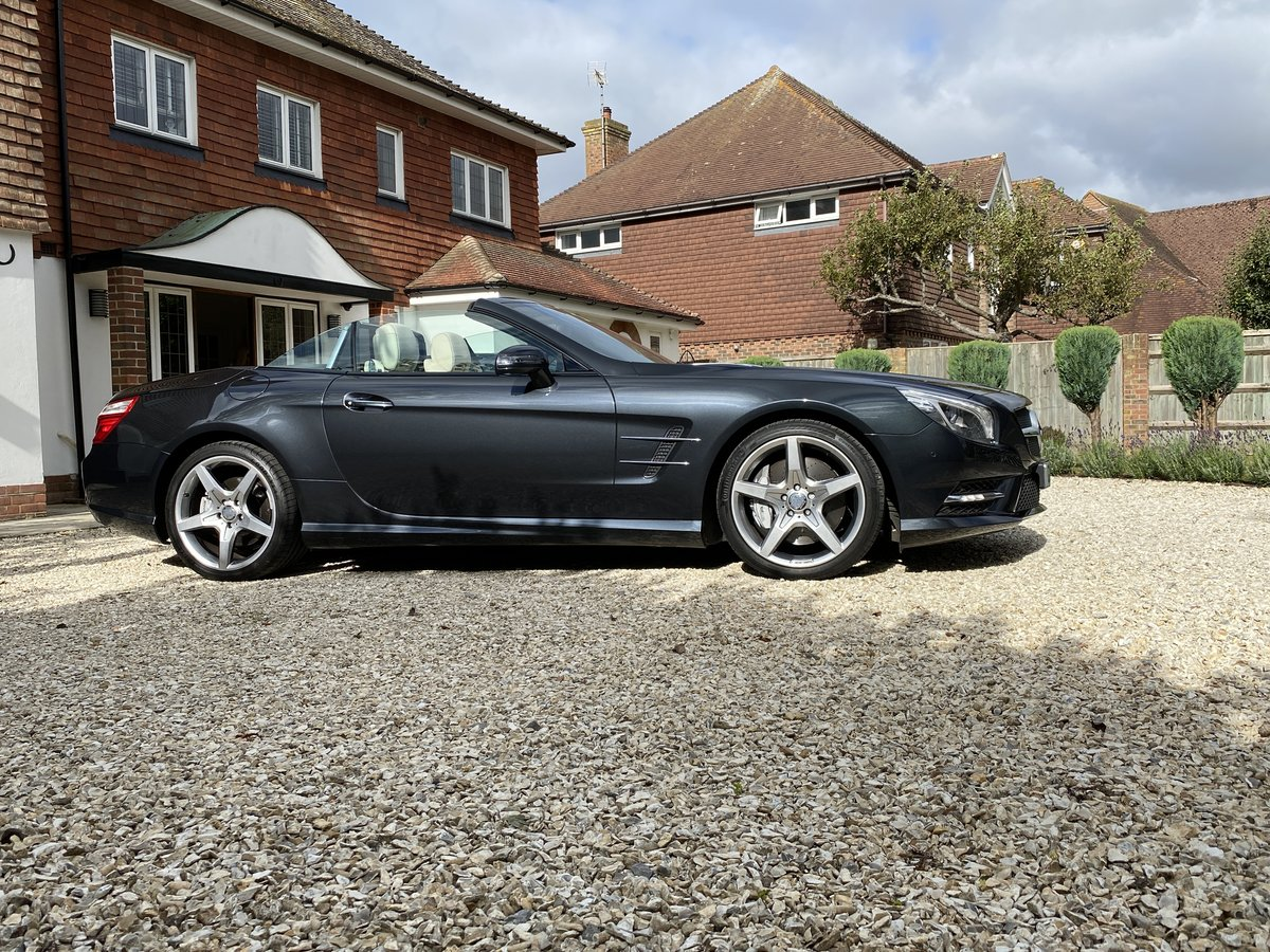 2013 SOLD - MERCEDES BENZ 350SL SPORT-AMG SPEC- SOLD For Sale (picture 1 of 6)