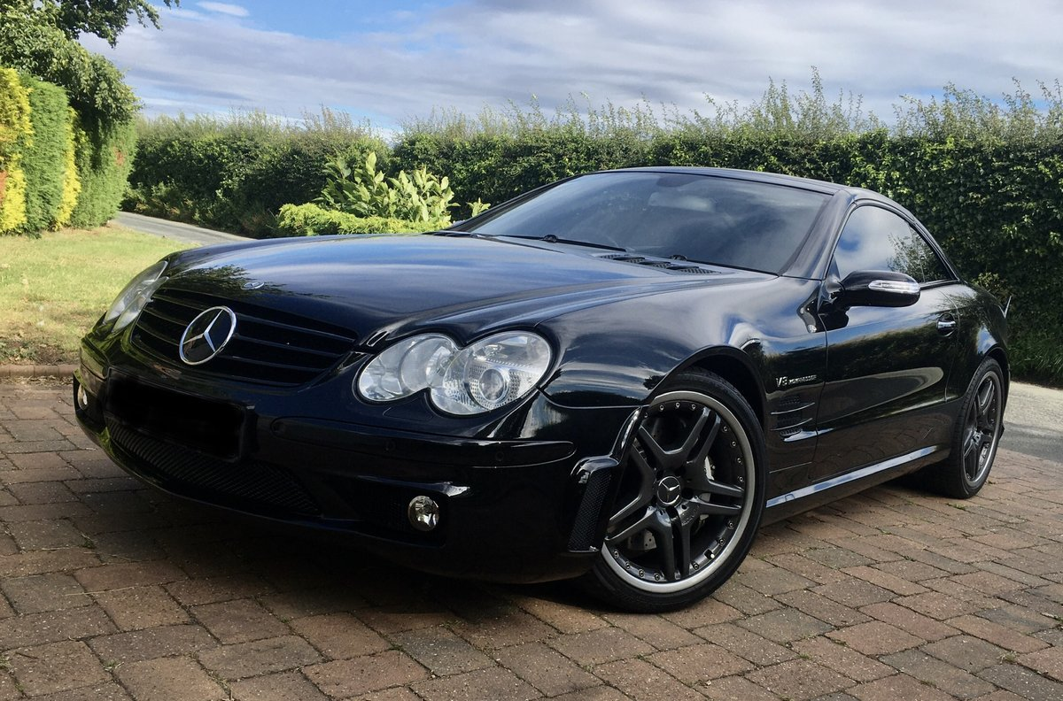 2005 Mercedes SL55 AMG For Sale (picture 1 of 6)