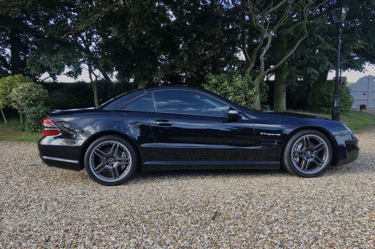 2005 Mercedes SL55 AMG For Sale (picture 2 of 6)