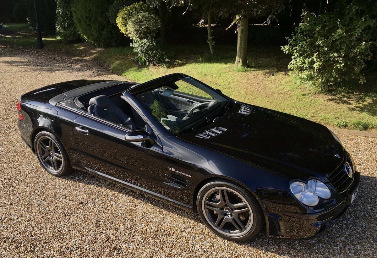 2005 Mercedes SL55 AMG For Sale (picture 3 of 6)