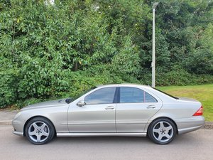 2003 Mercedes S-Class S500.. Rare Factory AMG Package.. Low Miles