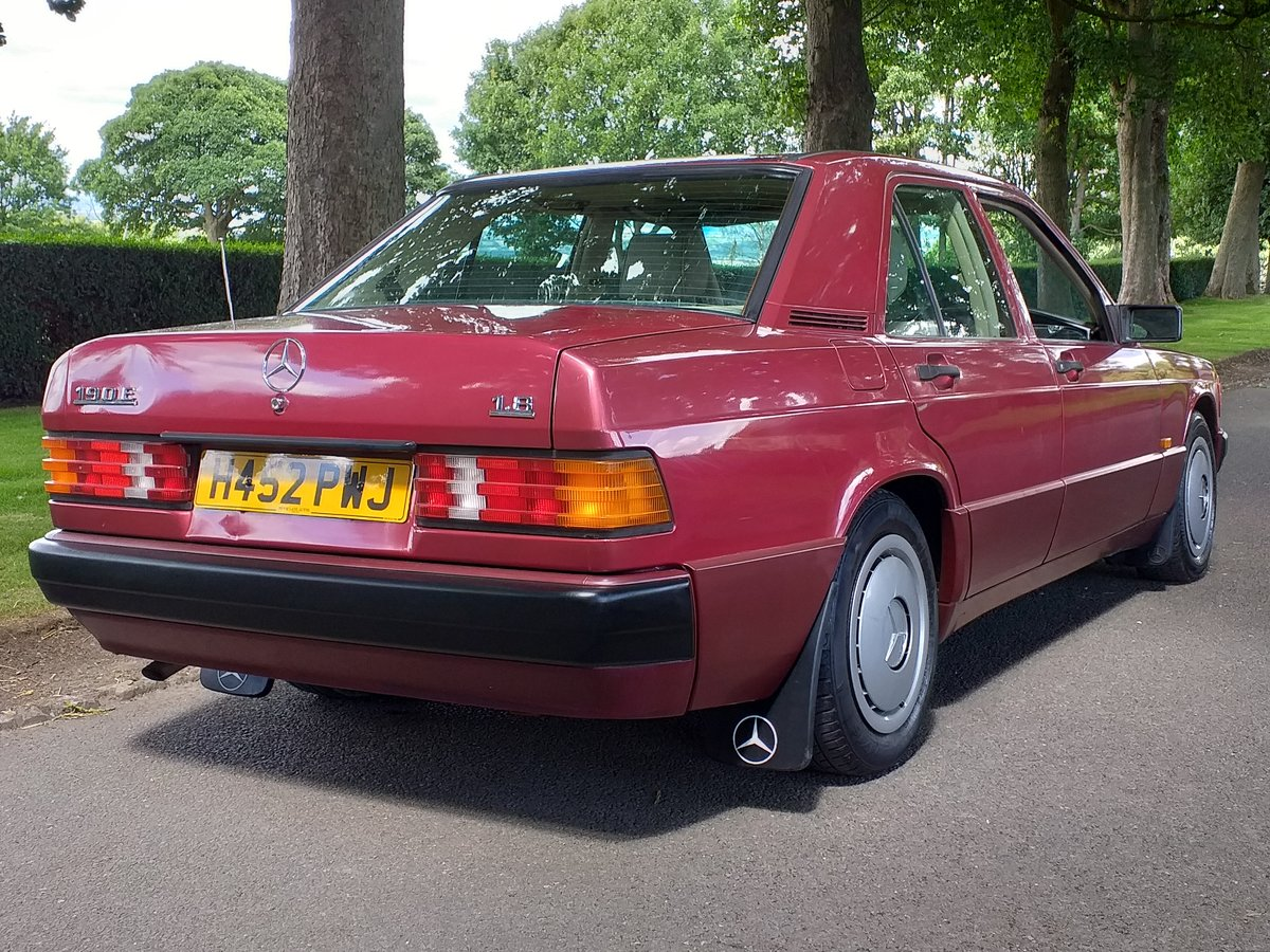 1990 Mercedes 190e AMAZING CONDTION For Sale (picture 4 of 6)
