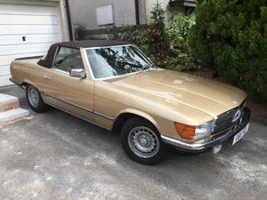 1984 Mercedes 280Sl convertible