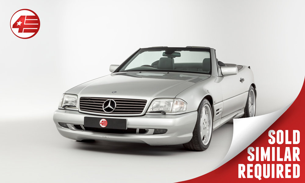 1997 Mercedes R129 SL60 AMG /// Rare UK RHD SOLD (picture 1 of 3)
