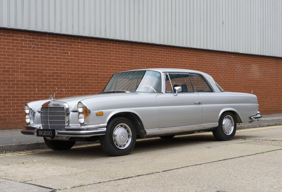 1969 Mercedes-Benz 280SE 3.5 Coupe (LHD) For Sale (picture 1 of 23)