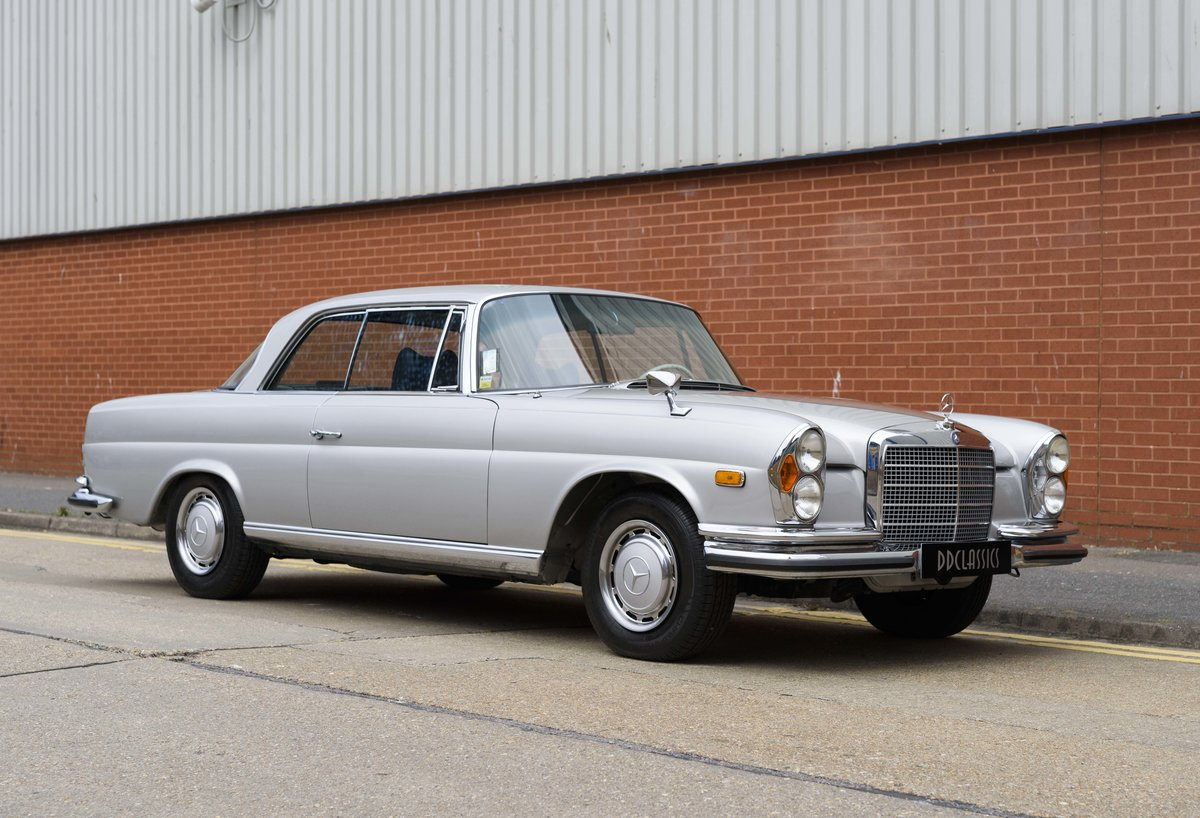 1969 Mercedes-Benz 280SE 3.5 Coupe (LHD) For Sale (picture 2 of 23)