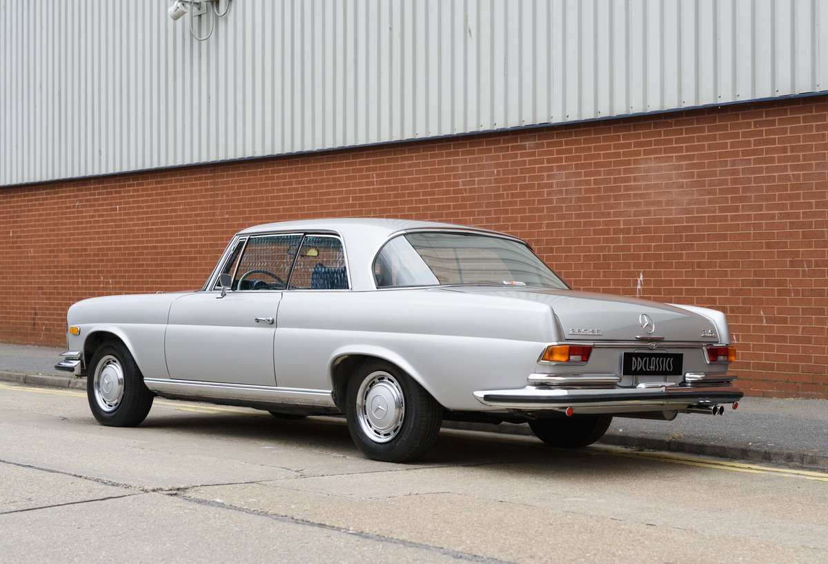 1969 Mercedes-Benz 280SE 3.5 Coupe (LHD) For Sale (picture 4 of 23)