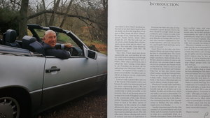 1990 Ex sir stirling moss 500sl with full documentation