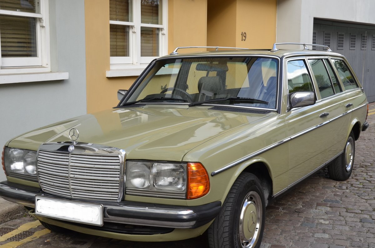 1985 Mercedes-Benz 200T W123 Estate For Sale (picture 1 of 6)