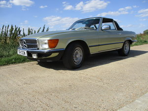 Mercedes SL500 1981 Green 59600 Miles