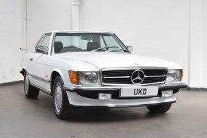 MERCEDES BENZ SL SL-CLASS 420 R107 AUTO WHITE 1987 For Sale