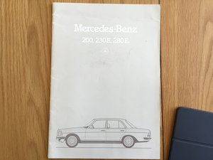 1982 Mercedes 200,230,250,280 brochure SOLD