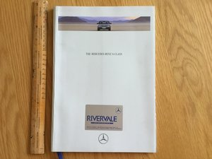 1993 Mercedes S Class brochure For Sale